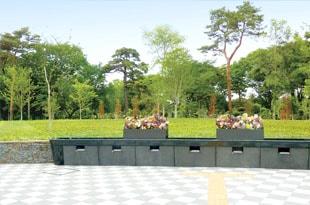 都立小平霊園 樹林型合葬埋蔵施設(樹林墓地)