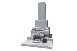 定番の和型墓石