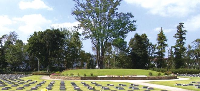 横浜市営メモリアルグリーン 樹木型納骨施設