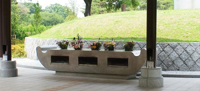 都立小平霊園 合葬埋蔵施設(東京都東村山市)参拝スペース