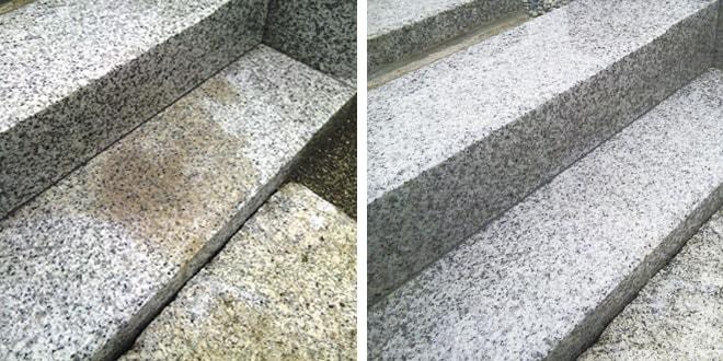 墓石の汚れの原因/シミ